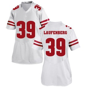 Brad Laufenberg Under Armour Wisconsin Badgers Women's Game College Jersey - White