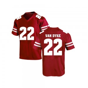 Jack Van Dyke Under Armour Wisconsin Badgers Youth Game College Jersey - Red
