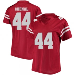 John Chenal Under Armour Wisconsin Badgers Women's Replica College Jersey - Red