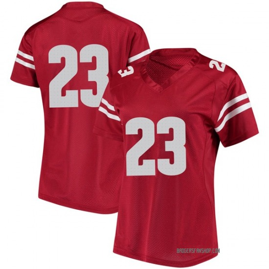 Jonathan Taylor Under Armour Wisconsin Badgers Women's Replica College Jersey - Red